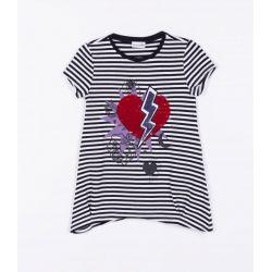 Prévente - Girl's Can - T-shirt rayée