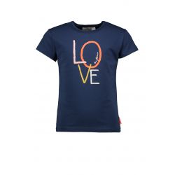 Nature - T-shirt indigo Love