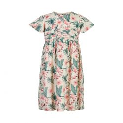 Prévente - Minymo - Robe imprimée en viscose