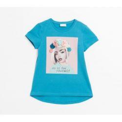 Prévente - Self Love First - T-shirt turquoise