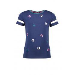 Prévente - B.Good - T-shirt space blue avec broderies