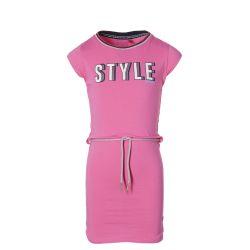 Robe hot pink avec ceinture