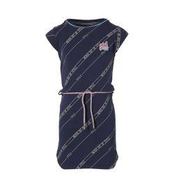Robe dark blue avec ceinture