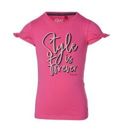 T-shirt hot pink