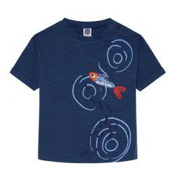 Kamogawa - T-shirt marine