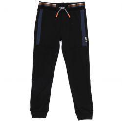 Prévente - Haute Altitude - Pantalon de jogging en french terry noir