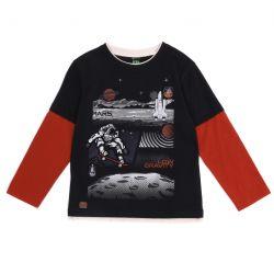 Prévente - Mission sur Mars - T-shirt marine