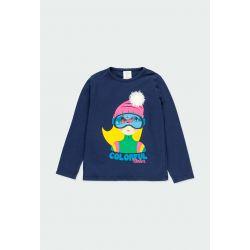 Prévente - Montain Colors - T-shirt marine