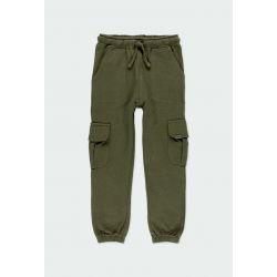 Prévente - Green Warriors - Pantalon en molleton taupe avec poches cargo