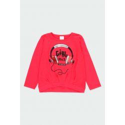 Prévente - Biker Gang - T-shirt rubis écouteurs