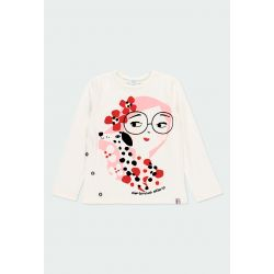 Prévente - Rive gauche - T-shirt off white fille