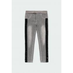 Prévente - Rive gauche - Jeans stretch gris
