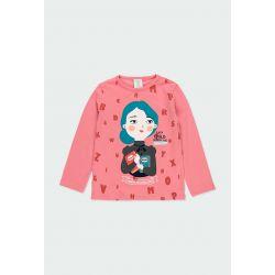 """Prévente - Rive gauche - T-shirt rose """"Maria Montessori"""""""