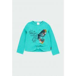 Prévente- Bloom Up! - T-shirt turquoise