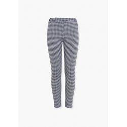 Prévente - Pantalon en jacquard marine