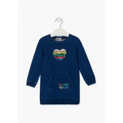 Prévente - Choose Fun - Robe en tricot de denim