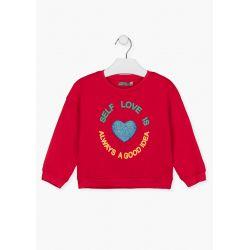 Prévente - Choose Fun - Sweatshirt rouge