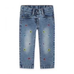 Prévente - Color Hikers - Pantalon en denim avec broderies