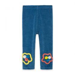 Prévente - Color Hikers - Legging en velours bleu