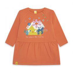 Prévente - Color Hikers - Robe en molleton orange