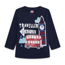 Prévente - Hello London - T-shirt marine