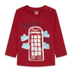 Prévente - Hello London - T-shirt rouge