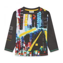 Prévente -City Gamer - T-shirt noir imprimé