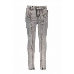 Prévente - B.You - Pantalon en denim gris