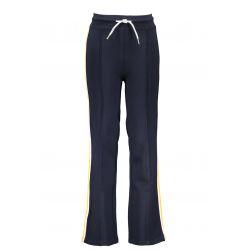Prévente - B.Sporty - Pantalon palazzo ink blue avec bandes latérales