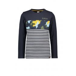 Prévente - B.Undercover - T-shirt ink blue rayé